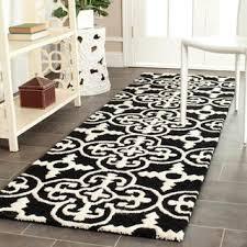 safavieh handmade cambridge moroccan black runner wool rug
