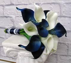 calla lilies bouquet navy calla lilies chuck nicklin