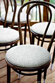 Thonet Bistro Chair Dipped Thonet Chairs Our Fifth House