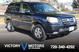 grey honda pilot used cars and trucks longmont co 80501 victory motors of colorado