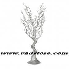 manzanita trees 30 artificial silver glitter manzanita tree wedding table