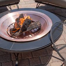 Propane Fire Pit Sets With Chairs Exterior Rectangular Propane Fire Pit Table Which Combined With