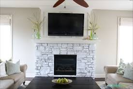 interiors wonderful painting stone fireplace stone veneer