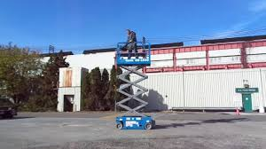 genie gs 1930 19ft electric scissor lift for sale delaware pa