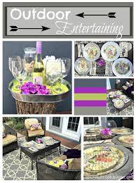 Summer Entertaining Ideas - party entertaining ideas archives a purdy little house