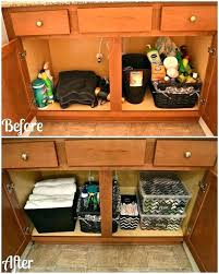 Bathroom Sink Storage Solutions Cabinet Storage Ideas Large Size Of Cabinet Storage