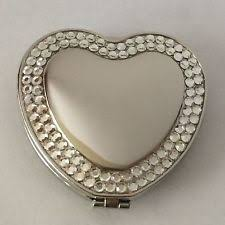 Rhinestone Wall Mirror Heart Shaped Mirror Ebay