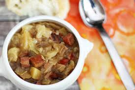 slow cooker polish sausage and cabbage soup recipe