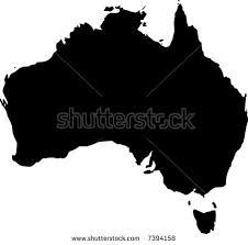 map od australia australia map stock images royalty free images vectors