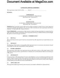 consulting contract forms legal forms and business templates