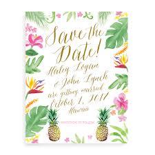 wedding invitations hawaii watercolor wedding invitations unique custom wedding invitation