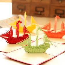 bon voyage bulk handmade 3d happy birthday greeting pop up