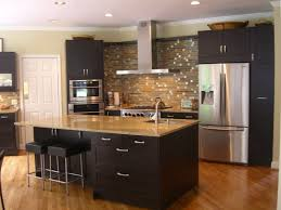 kitchen amazing brick backsplash ideas with black colors kitchen