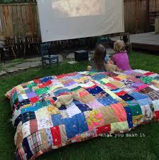 backyard movie night u2013 home is what you make it