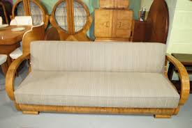 Art Deco Armchairs For Sale Art Deco Sofas For Sale Pair Of 1930s French Art Deco Curved Sofas