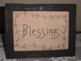 blessings home decor primitive stitchery blessings home decor sler rustic