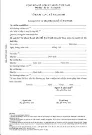 Certification Letter For Nanny How To Get A Birth Certificate In Vietnam A Summary Hello Saigon