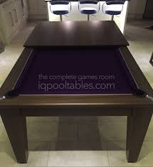 Pool Table Dining Table by Iq Install Gatley Classic Pool Dining Table Dark Walnut Finish