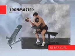 Iron Master Super Bench Ironmaster Super Bench Exercises Youtube