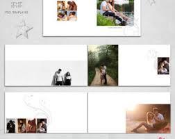 10x10 Album 12x12 10x10 Psd 40 Pages Wedding Album Template 20