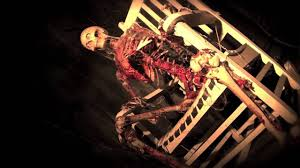 Halloween Skeleton Halloween Skeleton Prop In Rocking Chair He Talks Youtube