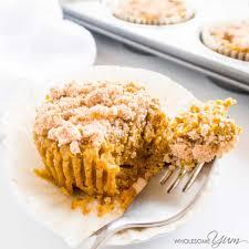 pumpkin pie cupcakes paleo low carb