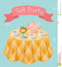 Tea Party Invitation Card Tea Party Invitation Card Alesi Info