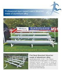 uv protection retractable plastic or aluminum bleacher football