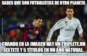 Memes De Ronaldo - de messi y ronaldo