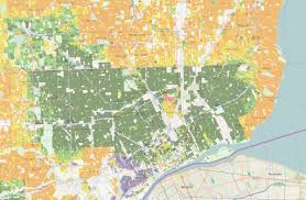 Windsor Usa Map by New Maps Of Racial Diversity In The United States Geographical