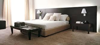 double bed contemporary oak hotel porada