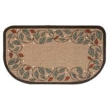 flame resistant hearth rug tan scroll hearth accessories lehman u0027s