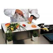 sur la table cutting board lakeside 555 chef cutting board display riser standard