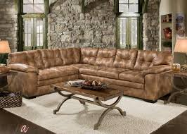 Albany Sectional Sofa 781 Sectional Sofa In Almond Leatherette By Albany