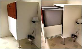 Kitchen Trash Cabinet Pull Out Samsung Samsung Ikea Garbage Can Cabinet Ikea Trash Can Drawer
