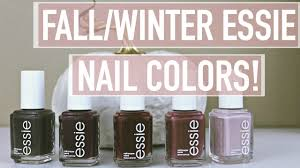 5 favorite fall winter nail colors essie