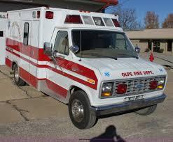 1985 ford econoline e350 ambulance item h7286 sold janu