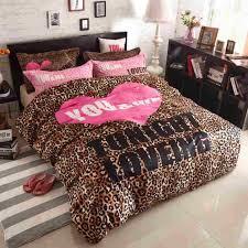 Leopard Print Duvet Bedding Amazing Leopard Print Bedding Fashion Leopard Print