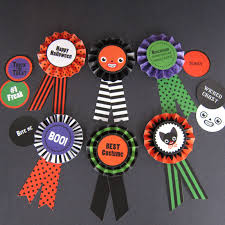 printable halloween paper halloween paper award ribbons printable paper craft fantastic toys