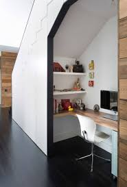 small home office idea make use of a small space and tuck your