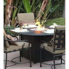 Firepit Patio Table Bar Height Pit Table Set Wayfair