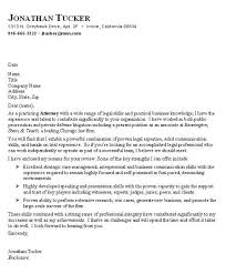 sample cover letter lawyer