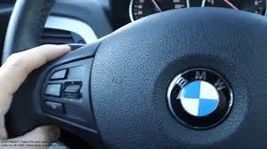 how to use bmw 1 series cruise control years 2009 to 2016 youtube