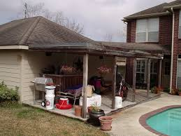 gable roof patio cover everhart construction