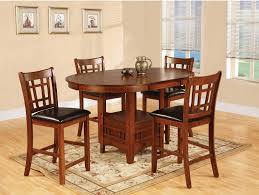 counter height dining room table sets 5 piece counter height dining set luna counter height 5pc dining