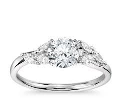 monique lhuillier designer engagement rings blue nile