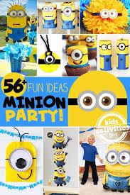 minion party 56 minion party ideas kids activities
