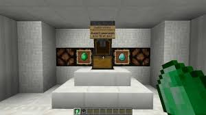the one chest shop switches emeralds for diamonds minecraft