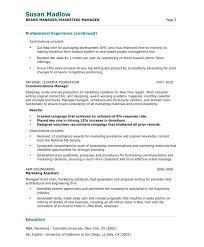 resume manager sample old version old version old version resume