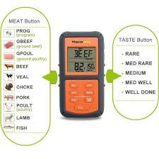 Backyard Grill Wireless Thermometer by Thermopro Tp 07 Digital Wireless Remote Meat Cooking Thermometer